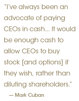 Buy to cover stock options