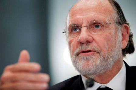 Former MF Global CEO Jon Corzine (Source: Bloomberg)