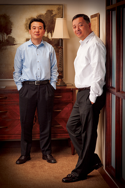 Sean Pan (Left) and Ken Fu (Right)
